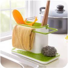 Suction Sponge Holder Sink by Sink Draining Washing Rack Suction Storage Cups Brush Sponge