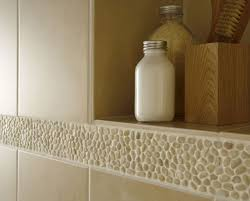 Beige Bathroom Tiles by 28 Best Stone Mosaic Tile Products Images On Pinterest Pebble