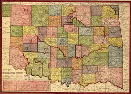 Map Of Oklahoma State doug dawgz blog 1905 oklahoma map u0026 gazetter