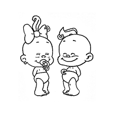 coloriage bébé personnages dessins art techniques pinterest