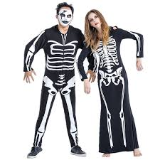 skeleton costumes lover skeleton costume masquerade unisex men