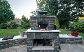 wood fired pizza ovens paradise restored landscaping