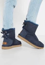 womens ugg boots bow ugg boots with fur the side ugg mini bailey bow ii boots