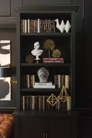 Black Book Shelves by Week 6 One Room Challenge The Reveal Sappington Villa Bedroom