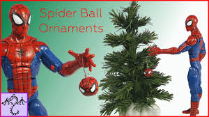 how to make mini spider man christmas ball ornaments 1 12 scale