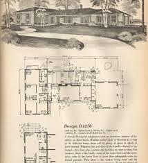 Split Level Floor Plans 1960s Plans 1950s 1960s Ranch Home House Plans Contemporary Ranch Floor