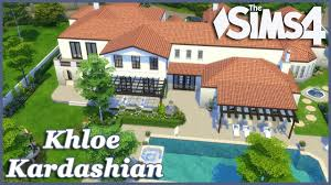 Khloe Kardashian Kitchen by The Sims 4 Khloe Kardashian House Build Part 4 Youtube