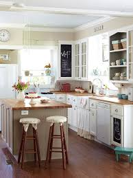 Cheap Kitchen Decorating Ideas Cottage Farmhouse Kitchens Inspiring In White Fox Hollow Cottage