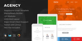 agency responsive email template by hyperpix themeforest