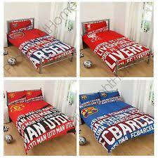 Barcelona Duvet Set Arsenal Bedding Ebay