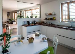 cuisine maison bois maison bois poteau poutre toiture terrasse millery lyon 69