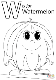 slice watermelon coloring page coloring pages