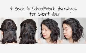 cute hairstyles for short hair quick cute hairstyles best quick easy cute hairstyles for short hair