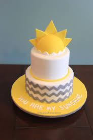 custom made cakes best 25 sun cake ideas on cake yellow party
