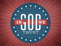 Designs In God We Trust In God We Trust Graphics For Church Independence Day Powerpoints