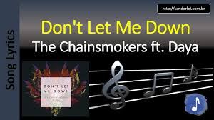 testo come musica the chainsmokers don t let me song lyrics letras musica