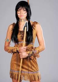pocahontas costume womens indian squaw pocahontas costume ebay