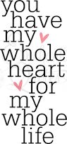 bedroom quotes love quotes vinyl wall quotes word decals you have my heart