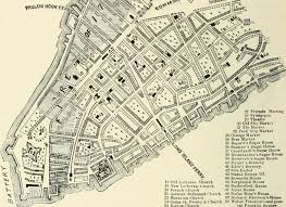 New York City Street Map by Perilous Night The Great Fire Of 1776 The Bowery Boys New York