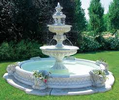 best backyard water fountains 20 solar water fountain ideas for