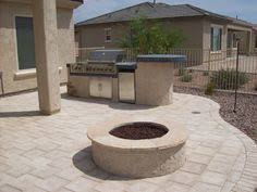 Arizona Backyard Ideas by Built In Grill With Some Prep Space Could Even Do Some Bar Stools