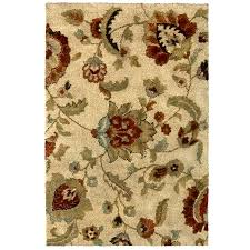Brown And Beige Area Rug Shop Rugs At Lowes Com