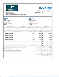 Sales Invoice Template Excel Sales Invoice Templates 27 Exles In Word And Excel