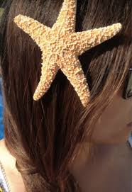 starfish hair clip diy hair accessories to wear at the this summer