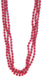 bead necklace pink images Mardi gras beads z novelties jpg