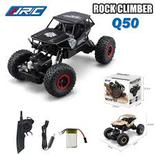 remote control bigfoot monster truck jjrc q50 rc car 4wd bigfoot rock crawler climbing racing high