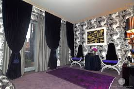 Blue And Grey Curtains Blue Velvvet Drapes Silver Grey Curtains Purple Carpeting Zac