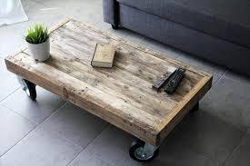 Coffee Tables With Wheels Diy Coffee Table With Wheels Worldtipitaka Org