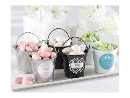 cheap wedding guest gifts personalized wedding guest favor pails