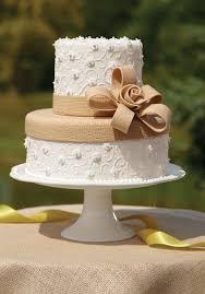wilton burlap and lace tiered cake wilton cakedecorating
