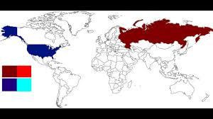 map usa and russia usa vs russia war simulation