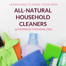 the ultimate guide to homemade all natural cleaning recipes