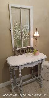 old painted table shabby chic decor painted furniture white