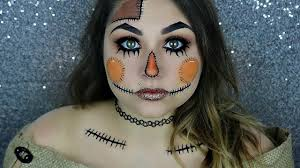 Cool Halloween Makeup Ideas For Men by Cute Scarecrow Halloween Makeup Tutorial Beautybyjosiek Youtube