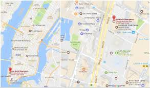 New York State Zip Code Map by Which Is The Best Observation Deck In New York City Mwl