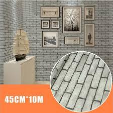 Adhesive Wallpaper by 45cm 10m 3d Wallpaper Brick Pattern End 3 16 2018 9 15 Am
