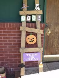 Primitive Holiday Decor Diy Unfinished October Ladder Kit By Creeksidevinyl On Etsy