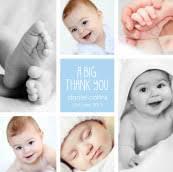 baby thank you cards baby thank you cards uk sleepymoon cards