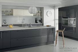 mix and match kitchen cabinet doors mix match kitchen grey ivory high gloss details high gloss