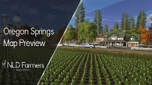map of oregon springs oregon springs 2017 map preview farming simulator 17