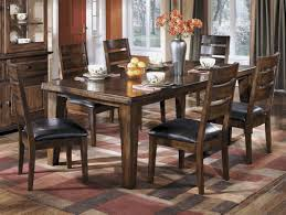ashley dining room furniture set buy ashley furniture larchmont rectangular dining room extension