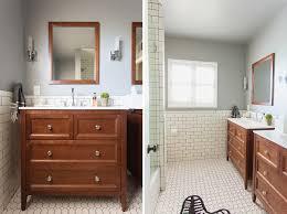 brady gives a refresh to brady gives a refresh to his vintage bathroom emily henderson