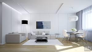Grey Livingroom White Livingroom In White Living Room With Grey Sofa And White