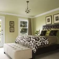 Doublehung Windows Welcome Natural Light In To Illuminate The - Green bedroom color