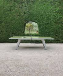 outdoor table tennis dining table an outdoor ping pong table for design lovers ping pong table