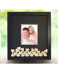 wedding guest book picture frame here s a great price on guest book drop box frame with photo